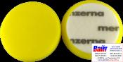 Круг полировальный Medium Cut на липучке MENZERNA диаметр 95 мм,PREMIUM, средней жесткости, желтый, 1 шт.