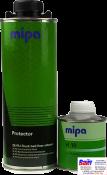 Mipa Raptor Защитное покрытие со структурным эффектом на базе полиуретановых смол 2K (0,75 л + 0,25л), черное, комплект 1л