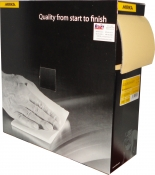 Абразивная бумага в рулоне на поролоне без перфорации Mirka GOLDFLEX-SOFT 115мм x 25м, P320