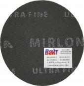 Скотч-брайт MIRKA MIRLON (серый UF) для матованиня поверхности, диаметр150мм, P1500