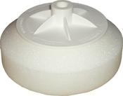 Круг полировальный NCPro М14 Ø150мм, твердый, белый
