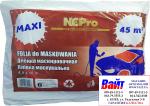 Пленка маскировочная полиэтиленовая NCPro прозрачная, 4.5 х 10м