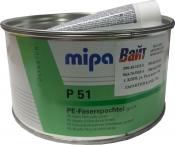 Шпатлевка со стекловолокном MIPA P51 green, 1,8 кг