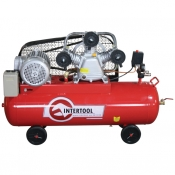 Компрессор Intertool PT-0036, 100л, 5HP, 3 цилиндра
