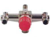 Контрольно-распределительный блок компрессора Intertool PT-9092 с регулятором давления