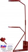 Металлическая подставка под краскопульт, красная