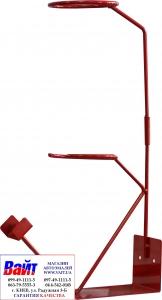 Купить Металлическая подставка под краскопульт, красная - Vait.ua