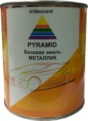"Mazda 28W, Автоэмаль базовая металлик Pyramid ""RADIANT EBONY"", 0,75л"