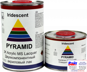 Купить 2К акриловый лак Pyramid MS LACQUER (1л) + отвердитель (0,5л) - Vait.ua