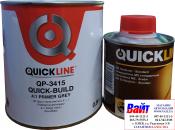 2К Акриловый грунт-наполнитель 4:1 QuickLine QP-3415 (0,8л) + отвердитель QH-4220 (0,2л), серый