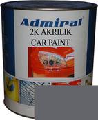 """RAL 7012 Акриловая 2К автоэмаль ADMIRAL """"Базальтовый серый"""" в комплекте с отвердителем"""