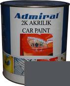 """RAL 7024 Акриловая 2К автоэмаль ADMIRAL """"Серый графитовый"""" в комплекте с отвердителем"""