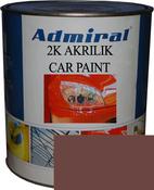 """RAL 8012 Акриловая 2К автоэмаль ADMIRAL """"Красно-коричневый"""" в комплекте с отвердителем"""
