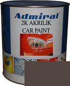 """RAL 8017 Акриловая 2К автоэмаль ADMIRAL """"Шоколадно-коричневый"""" в комплекте с отвердителем"""