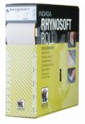 Абразивная бумага в рулоне на поролоне без перфорации INDASA RHYNOSOFT rhynalox plus line (Плюс линия), 115мм x 25м, P150