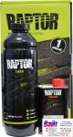 """2K защитное покрытие повышенной прочности RAPTOR Truck bed liner """"Черное"""" 1л комплект"""