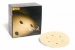Круг абразивный MIRKA ROYAL MICRO VELCRO, D150mm, 6 отверстий, P1500