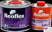 RX C-02 HS Clear Premium 2+1, Reoflex, Двухкомпонентный акриловый лак (0,5л) в комплекте с отвердителем RX H-02 (0,25л)