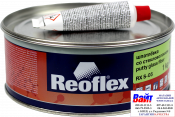 RX S-05 Putty Glass Fiber, Reoflex, Шпатлёвка со стекловолокном (1,0кг), зеленая