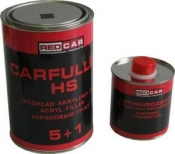 Грунт акриловый 5+1 HS Red Car (0,75л) + отвердитель (0,125л), черный
