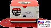 PowerTOP Абразивный круг Red Fire на пленочной основе d.150, 7 отверстий, липучка, P120