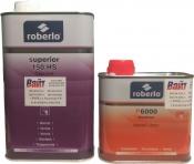 Лак Roberlo Superior 150HS (1л) + быстрый отвердитель Р6000 (0,5л)