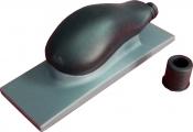 """Ручной шлифовальный блок (рубанок) Mirka с пылеотводом 70мм х 198мм, 22 отверстия, крепление """"липучка"""""""