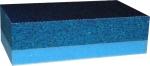 Двусторонний блок для ручного шлифования по сухому SIA 70х125х38мм