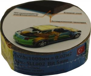 Купить Лента шумоизоляционная MEBANT 5mm*20mm*1000mm - Vait.ua