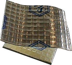 Купить Виброизоляционный лист STP BANY-M2 Вибропласт, 75x53 см, толщина 2,3мм  - Vait.ua