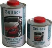 2К UHS Акриловый лак Sellack (1л) + отвердитель (0,5л)