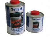 2К MS Акриловый лак Sellack (1л) + отвердитель (0,5л)