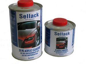 Купить 2К MS Акриловый лак Sellack (1л) + отвердитель (0,5л) - Vait.ua