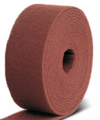 Cкотч-брайт в рулоне SMIRDEX (серия 925) A / Very Fine 115 мм х 10 м (зерно Р320), красный