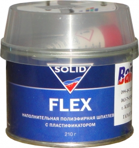 Купить Шпатлевка по пластику Solid Flex, 0,21кг - Vait.ua