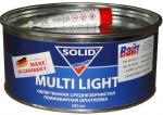 Облегченная среднезернистая шпатлевка Solid Multi Light, 0,5 кг