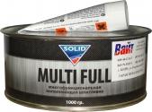 Шпатлевка наполнительная среднезернистая полиэфирная Solid Multifull, 1,0кг