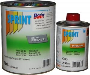 Купить F09 Полиуретановый двухкомпонентный грунт Isopol 3:1 Sprint (0,75 L) + отвердитель С05 (0,25 L) - Vait.ua