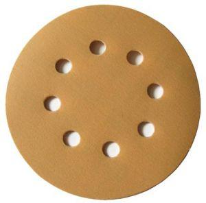 Купить Круг абразивный SUNMIGHT GOLD VELCRO D125mm, 8 отверстий, P80 - Vait.ua