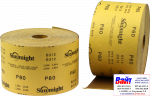 Абразивная бумага в рулонах SUNMIGHT GOLD (115мм x 50м), P320
