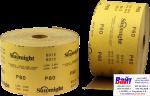 Абразивная бумага в рулонах SUNMIGHT GOLD (115мм x 50м), P80