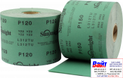Абразивная бумага в рулонах SUNMIGHT FILM (115мм x 50м), P80