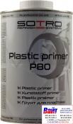 Грунт для пластика SOTRO 1K Plastic primer P80 1,0 л, прозрачный