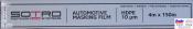 T057015, SOTRO, SOTRO Automotive masking film, Пленка защитная прозрачная, 10мкм, 4м х 150м