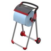 Tork 652008 Напольный диспенсер для протирочных материалов в рулоне. Красный-Черный