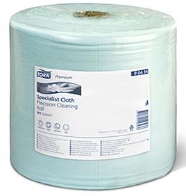 Купить 90494 Нетканый материал для чувствительной очистки Tork в рулонах, 190м, 500 листов - Vait.ua