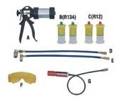Комплект УФ-течеискателя Trommelberg F104260 для автомобильных кондиционеров