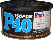 ISOPON P40® Стекловолоконная шпатлевка U-Pol, 250мл
