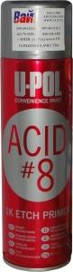 Купить Грунт протравливающий аэрозольный ACID#8™ U-Pol (серия Convenience), 450мл - Vait.ua