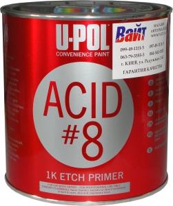 Купить 1К Грунт протравливающий ACID #8™ U-Pol , 1л - Vait.ua